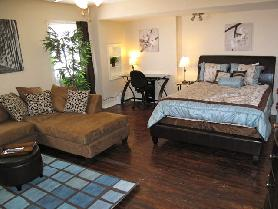 Fully Furnished Studio Apartment in Old East Dallas  TXTemporary Corporate Rentals Available Now in Dallas  TX  . One Bedroom Apartments Dallas Tx. Home Design Ideas