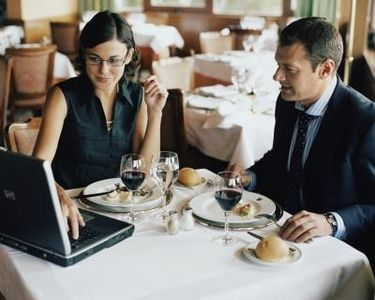 Business Travel Deductions - Meals