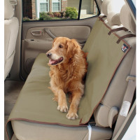 To protect your car seats from hair and wear and tear, look into purchasing a removable seat cover.