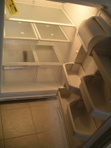 Empty and defrost your fridge and freezer 24 hours prior to your move.