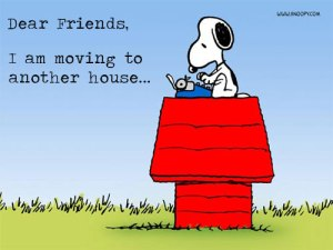 Let your friends and family members know you are moving and give them your new address.