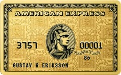 American Express Preferred Gold Rewards Card