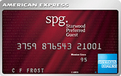 Starwood Preferred Guest Credit Card from American Express