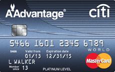 Citi Platinum Select AAdvantage Rewards Card