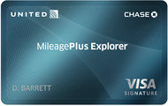 United Mileage Plus Explorer Credit Card