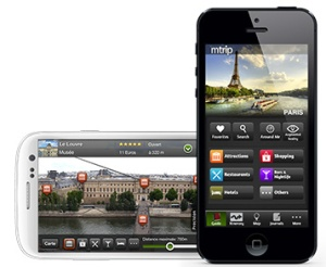 The mTrip app is like your very own personal, mobile tour guide while you are exploring your destination(s).