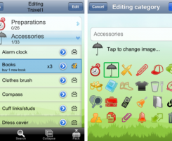 Keep yourself organized and on track with the uPackingList app.