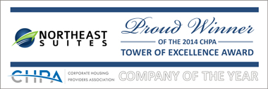 Northeast Suites Logo - 2014 Company of the Year